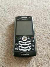 BlackBerry Pearl 8100 Vodafone Black Mobile Phone not working spares or repairs