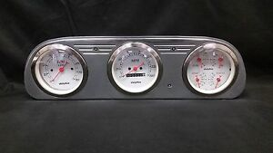 1960 1961 1962 1963 FORD FALCON 3 GAUGE CLUSTER WHITE