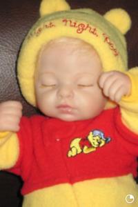 Poupon Disney Night Night Pooh Doll Florenza Blancheri 2007 Reborn
