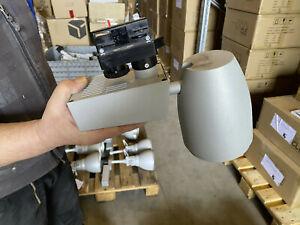 LTS Stromschienenstrahler Strahler 230W HIT 70W CDM MX G12 silbergrau