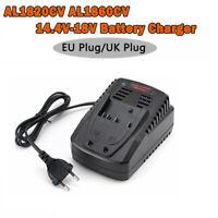 1x Lithium Ion Battery Charger For Bosch AL1820CV AL1860CV 14.4V - 18V UK Plug
