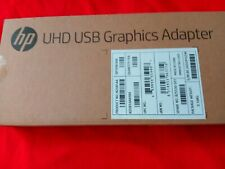 HP Genuine N2U81AA#ABA UHD USB Graphics Adapter New In Sealed Retail Packaging