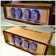 Nixie Clock IN-12 Retro clock with in-12 nixie tube lamp
