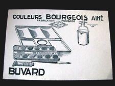 BUVARD peinture Couleurs Bourgeois Ainé