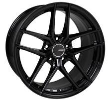 18x8.5 Enkei TY5 5x112 +42 Gloss Black Wheels (Set of 4)