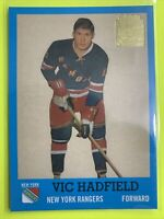 2001-02 Topps Archive Rookie Reprints #41 Vic Hadfield New York Rangers