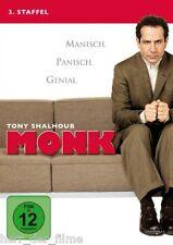 MONK, Staffel 3 (4 DVDs) NEU+OVP Tony Shalhoub