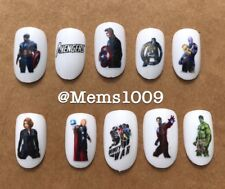 The Avengers Nail Art (WATER DECALS) Avengers Nail Art Decals