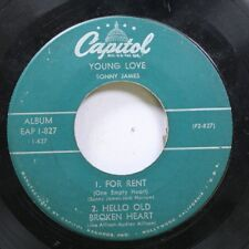 Country 45 Young Love - For Rent, Hello Broken Heart / Young Love, Twenty Feet O