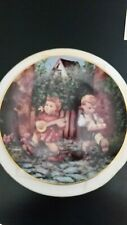 """Hummel Collector Plate Danbury Mint """"Private Parade"""" Certificate Limited Edition"""