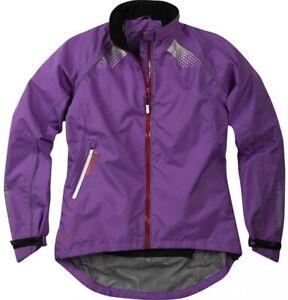 Madison Womens Prima Jacket. Waterproof Cycling.  Purple. Clearance. RRP £80
