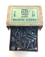 14-24 Screw Machine Flat Head Slotted 14/24 Rare Special Thread 7/8 Antique (2)