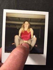 Vtg 60's Polaroid Pinup Girl Snapshot Spicy Girlie Risque Photo lot 3