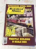 RAILROAD MODEL TRAIN MAGAZINE August 1994