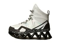 Marc by Marc Jacobs Women's Ninja Wave Hi-Top Black/ White Sneaker US 11