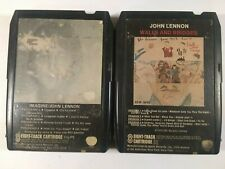 JOHN LENNON 8 TRACK TAPES Imagine Walls And Bridges beatles