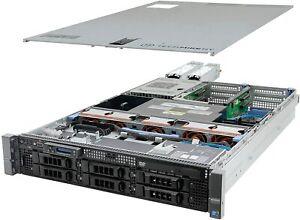 Dell PowerEdge R710 2U Rack Server 64GB Ram 2 X X5650 with 2X2TB SATA drives