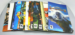 Lot of 15 - PlayStation 2 PS2 Original Game Manuals - Fast Shipping in US!