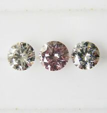 0.31ct! PINK AUSTRALIAN DIAMOND 100% UNTREATED +CERTIFICATE INCLUDED