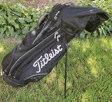 New listing Titleist 14-Way Players Stand Bag- Black with White Lettering