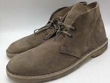 -4B15 Clarks Originals Boots Suede Leather Casual Men Shoes Size11/11.5  $130