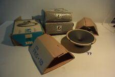C77 4 Enceintes baffes auto radio hifi vintage