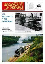 CHEMINS de FER RÉGIONAUX et URBAINS - N° 285 (2001 - 3) (FACS - CFRU) (Train)