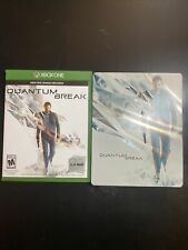 Quantum Break Steelbook and Original Box Art (NO GAME) (Microsoft Xbox One)