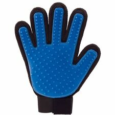 Massage True Glove Touch Deshedding Gentle Efficient Pet Grooming Dogs Cats Bath
