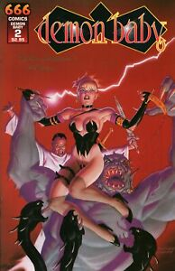 High Grade 666 Comics Demon Baby Comic Book Issue #2 Signed by Rich Larson