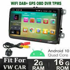 "9"" HD Android 10.0 Autoradio GPS WiFi for VW PASSAT GOLF 5/6 TOURAN TIGUAN SEAT"
