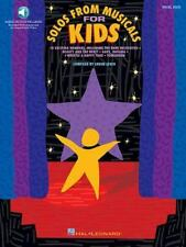 Solos from Musicals for Kids, PB with CD; Vocal Songbook Sheet music 10 songs