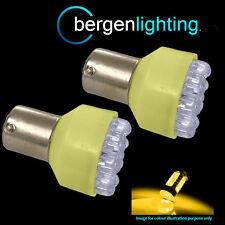 581 BAU15S PY21W Xénon ambré 12 Dôme LED Feux clignotants arrière AMPOULES