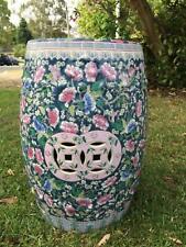 Ornate Ceramic side table Japanese inspired