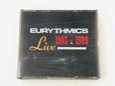 EURYTHMICS - LIVE 1983-1989 FAT BOX 3 CD + BOOKLET 1993 BMG UK - EX++/EX++