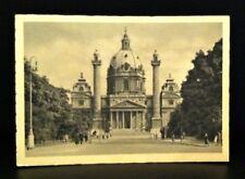 """Karlskirche Wien Postcard postmarked """"Reserve Lazarett XXIII Wein"""""""