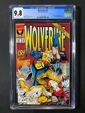 Wolverine #51 CGC 9.8 (1992) - X-Men appearance