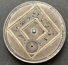 Vintage Chesterfield Pocket Watch Movement Parts/Repair 12s 7j Swiss