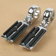 """1 1/4"""" 1.25"""" 32mm Bars Highway Foot Peg Mount Footrest For Harley Touring Models"""