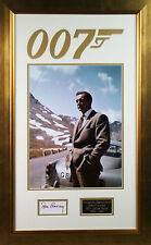 Certified: Obtained Personally James Bond Film Autographs