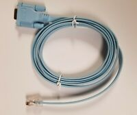 CISCO 72-3383-01 Rev A2 DB9 to RJ45 Rollover Console Flat Cable 6 Feet NEW