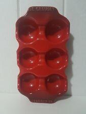 Le Creuset Egg Crate (Half-dozen) Egg Tray Cherry Colour
