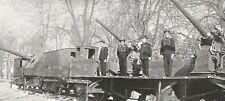 D0674 Esposizione di Torino - Treno armato Mostra Marina - Stampa - 1928 print