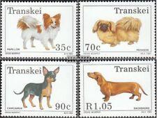 Zuid-Afrika - Transkei 299-302 (compleet.Kwestie.) First Day Cover 1993 Honden