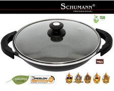 wok schumann pro 32 cm en pierre tous feux induction FOUR POELE marmite pradel