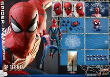 HOT TOYS VGM31 MARVEL SPIDER-MAN ADVANCED SUIT 1:6 FIGURE
