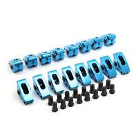 """Ford SB 289 302 351 Windsor 1.6 3/8"""" Blacklabel Aluminum Roller Rocker Arm Set"""