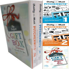 Daily Mail Pitcherwits Vol(1and 2) 2 Books With gift journal GiftWrappedslipcase