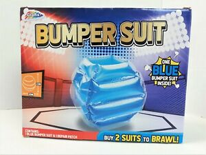 Inflatable Bumper Suit Kids 23x25 inch & 1 Repair Patch 1 Blue Suit Included 821