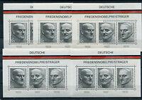 Bund Block 11 postfrisch (5 Stück) BRD 871 - 873 Deutsche Nobelpreisträger MNH